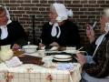 Venditrici di frittelle a Giethoorn